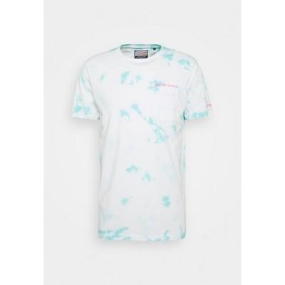 ペトロール インダストリーズ Tシャツ メンズ トップス Print T-shirt - frosty blue