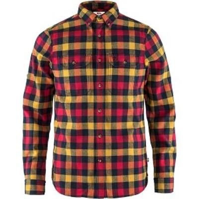 フェールラーベン メンズ シャツ トップス Skog Shirt - Men's True Red