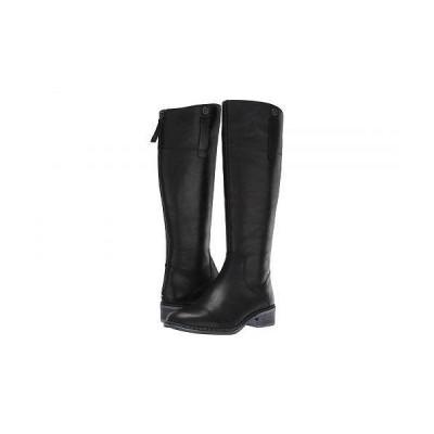 Franco Sarto フランコサルト レディース 女性用 シューズ 靴 ブーツ ロングブーツ Becky - Black Leather