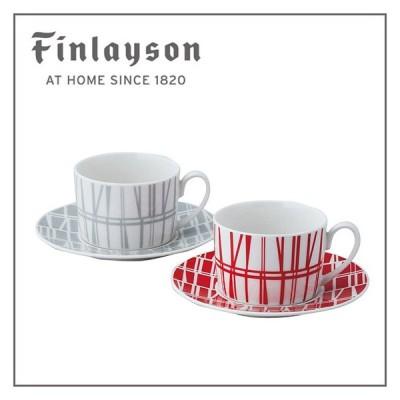 Finlayson(フィンレイソン)コロナ ペアコーヒーセット カップ&ソーサー