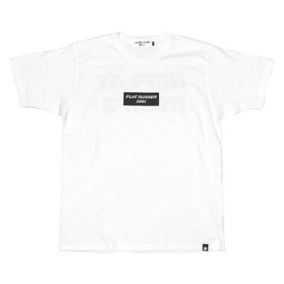 PLAY DESIGN  プレイデザイン / P01 プレイ / 半袖Tシャツ TEE / RUNNER TEE - WHITE x RED / 19SS0PRNTBRE / メンズ