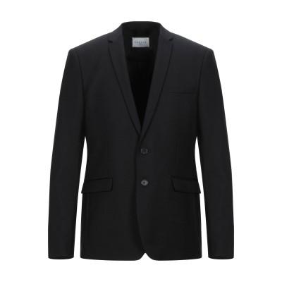 SANDRO テーラードジャケット ブラック 54 ウール 100% テーラードジャケット
