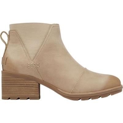 ソレル Sorel レディース ブーツ チェルシーブーツ シューズ・靴 Cate Chelsea Boot Sandy Tan