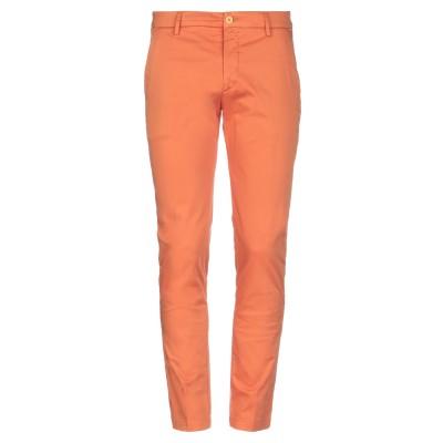 PAUL MIRANDA パンツ オレンジ 44 コットン 97% / ポリウレタン 3% パンツ