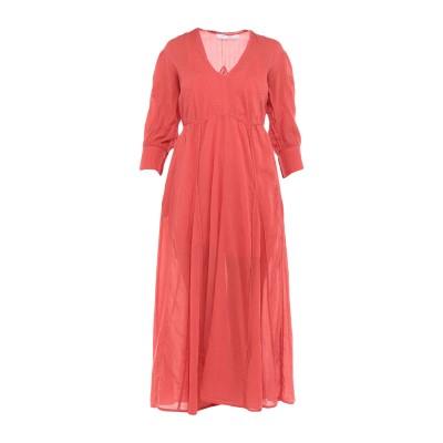 イロ IRO ロングワンピース&ドレス コーラル 36 コットン 100% / レーヨン ロングワンピース&ドレス