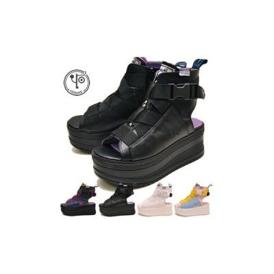 厚底サンダル レディース ブーツサンダル ヨースケ YOSUKE 靴 スポーティー ※(予約)は3営業日内に発送