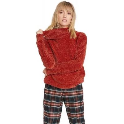 ボルコム Volcom レディース ニット・セーター トップス Cozy On Over Sweater Nutmeg