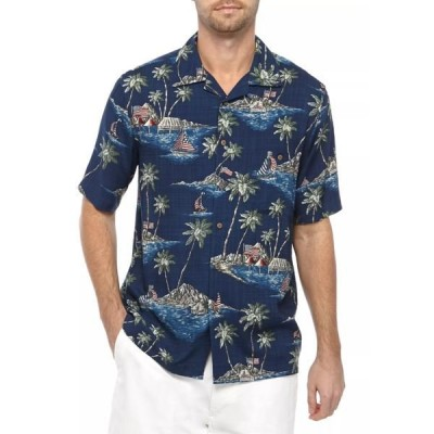 サドルブレッド シャツ トップス メンズ Short Sleeve Rayon Camp Shirt  -
