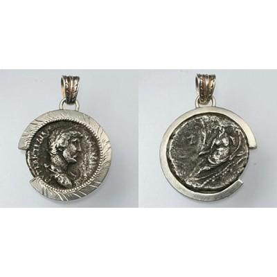 ローマ帝国 ハドリアヌス帝 コインペンダント