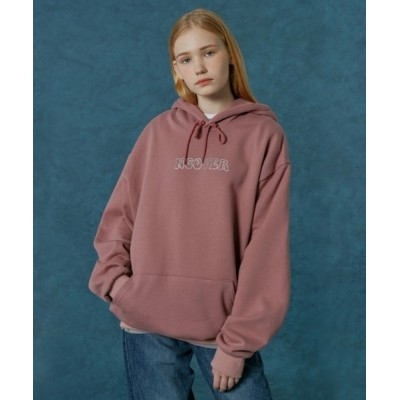 KONVINI / 【NCOVER 】Hotfix logo hoodie / ホットフィックス ロゴフーディ WOMEN トップス > パーカー