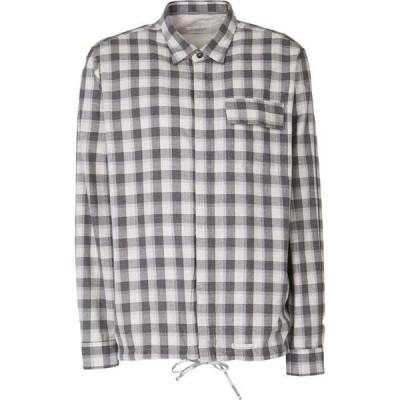 ティントリア マッティ TINTORIA MATTEI 954 メンズ シャツ トップス checked shirt Light grey