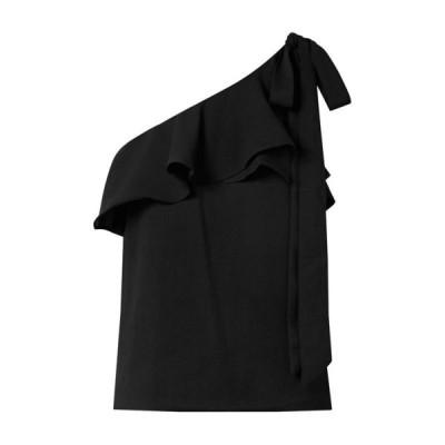 REBECCA VALLANCE トップス ファッション  レディースファッション  トップス  Tシャツ、カットソー  半袖 ブラック