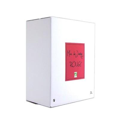 赤ワイン 3リットル マス・ド・ジャニーニ バッグ・イン・ボックス ルージュ カリニャン 赤 3000ml 自然派 ギフト プレゼント(4571455201343)