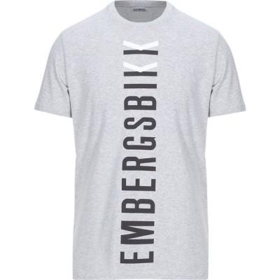 ビッケンバーグ BIKKEMBERGS メンズ Tシャツ トップス t-shirt Grey