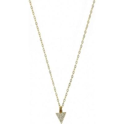 ロベルタ シェア デザインズ Roberta Sher Designs レディース ジュエリー・アクセサリー チャーム 14k Gold Filled Pave Triangle Charm On Chain