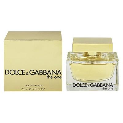 香水 FRAGRANCE ドルチェ&ガッバーナ DOLCE&GABBANA THE ONE ザ ワン EDP・SP 75ml