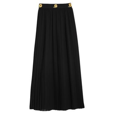 CLIPS MORE ロングスカート ブラック 42 ポリエステル 100% ロングスカート