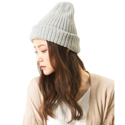 QUEENHEAD / モコ ベロアニットキャップ WOMEN 帽子 > ニットキャップ/ビーニー