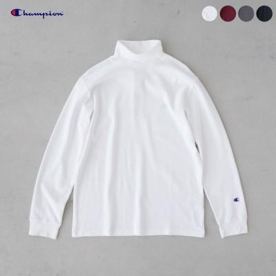 チャンピオン ベーシック タートル ネック ロング スリーブ Tシャツ C3-S403 メンズ