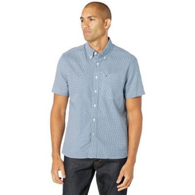 メンズ シャツ トップス Essentials Short Sleeve Button-Down Shirt in Custom Fit
