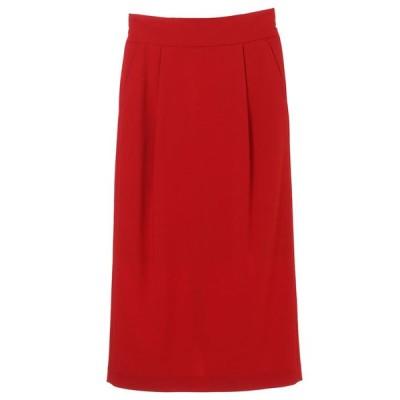 CLANE スカート クラネ ベーシック ハイウエスト スカート BASIC HIGH WAIST SKIRT レッド RED 2021春夏新作