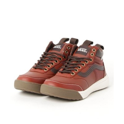 スニーカー VANS ヴァンズ BRECKENRIDGE V5101 FG/RED BROWN