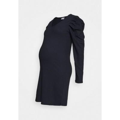 ママリシャス ワンピース レディース トップス MLKIRE DRESS - Shift dress - navy blazer