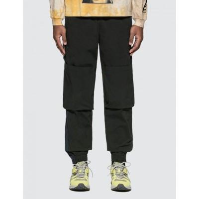 パークスアンドミニ Perks and Mini メンズ ボトムス・パンツ x-perience space in space shell pants Black