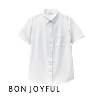 ボンユニ BONUNI 半袖ニットシャツ 23243-81