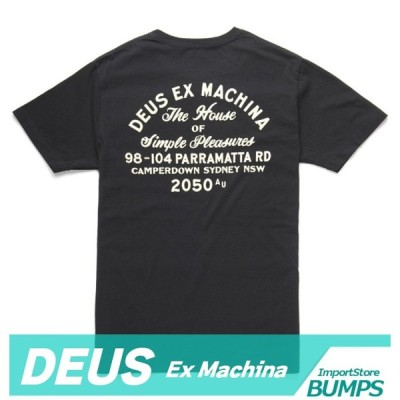 DEUS デウス エクスマキナ  Tシャツ  半袖  メンズ  丸首  ポケット  キャンパーダウン  Camperdown  XS〜XXL  トップス  デウス 新作