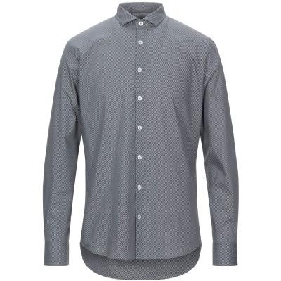 SSEINSE シャツ ダークブラウン S コットン 97% / ポリウレタン 3% シャツ
