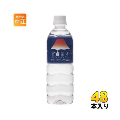 ミツウロコ 富士清水 JAPAN WATER 500ml ペットボトル 48本 (24本入×2 まとめ買い)