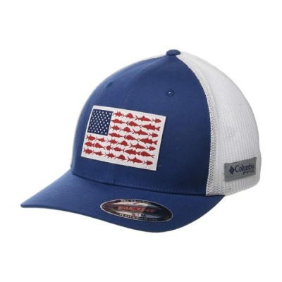 コロンビア Columbia レディース キャップ 帽子 PFG Mesh(TM) Fish Flag Ball Cap Night Tide/White