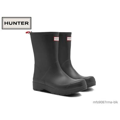 ハンター HUNTER メンズ オリジナル プレイ ブーツ ミッド ORIGINAL PLAY BOOT MID 国内正規品 メンズ レインブーツ MFS9087RMA-BLK