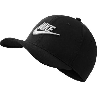 ナイキ 帽子 アクセサリー メンズ Nike Men's Sportswear CLC99 Futura Stretch Fit Cap Black