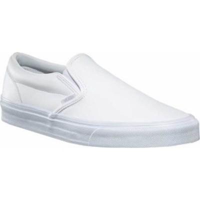 バンズ レディース スリッポン・ローファー シューズ Classic Slip-On Classic Tumble True White