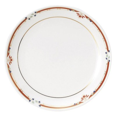 中華オープン ニューボン紅華妃 6 1/2吋丸皿 [ 16.5 x 2cm ] 料亭 旅館 和食器 飲食店 業務用
