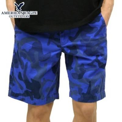 アメリカンイーグル ショートパンツ メンズ 正規品 AMERICAN EAGLE ボトムス  AE PREP FIT PATTERNED SHORT 1131-5773 BLUE