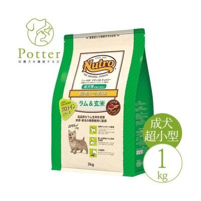 ナチュラルチョイス 成犬用 ラム&玄米 1kg  超小型犬〜小型犬用