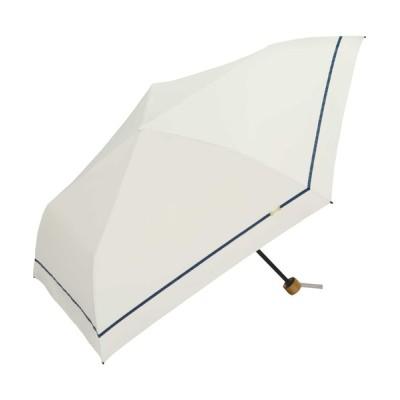 Wpc./KiU / 遮光軽量ラインリボン刺繍mini WOMEN ファッション雑貨 > 折りたたみ傘