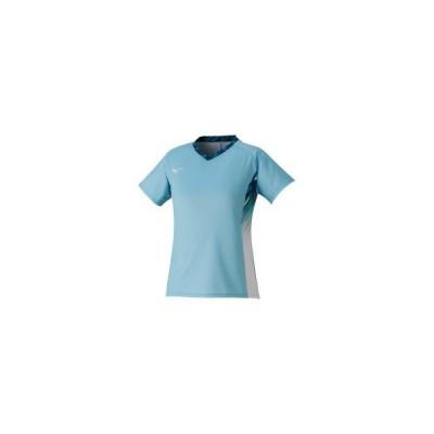 ミズノ  ミズノ ゲームシャツ(ラケットスポーツ)[レディース] ターコイズ(72ma122324)  スポーツ用品 取り寄せ