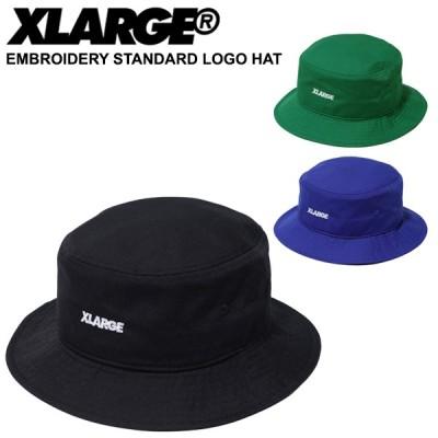 エクストララージ(XLARGE) EMBROIDERY STANDARD LOGO HAT バケット ハット ブーニー 帽子 [AA]