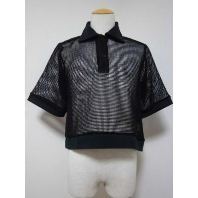<SALE> 50%OFF 定価¥15,400 Pourton de moi メッシュシャツ ポアトアデモア メッシュシャツ