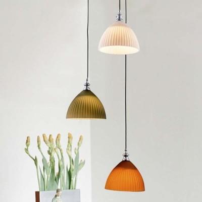 【日本製】 デザインペンダントライト LED和風 1灯 ドームタイプ 照明 ライト LED対応 北欧 リビング    電球別売 代引不可