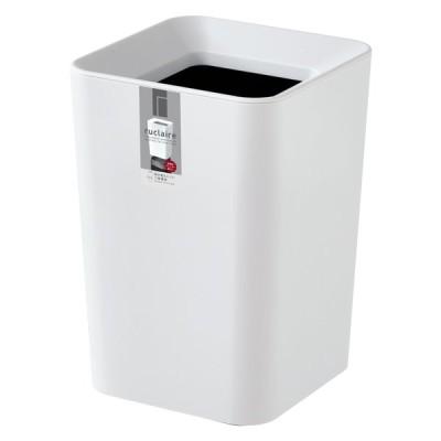アスベル ゴミ箱 ルクレール CVミニ角型 ホワイト 2.0L  4974908621086