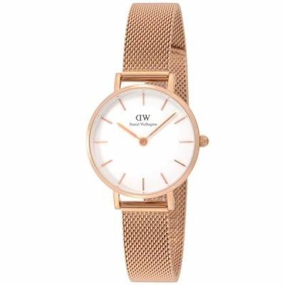 ダニエルウェリントン Daniel Wellington レディース Rose Gold 腕時計 28MM Petite Melrose DW00600219