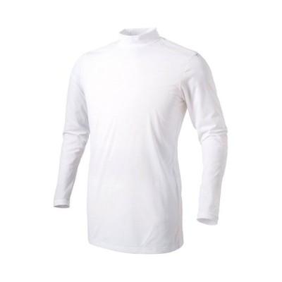 DESCENTEデサント 長袖リラックスFITシャツ Sサイズ ホワイト STD-648