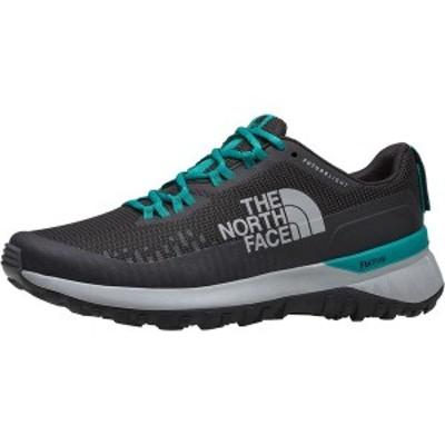 ノースフェイス レディース スニーカー シューズ Ultra Traction Futurelight Trail Running Shoe TNF Black/Jaiden Green