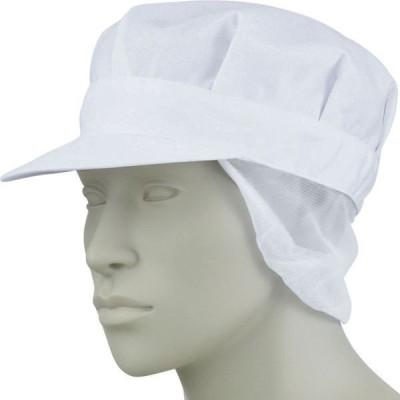 八角帽子たれ付  男女兼用 厨房 調理 飲食 住商モンブラン MONTBLANC 9-806