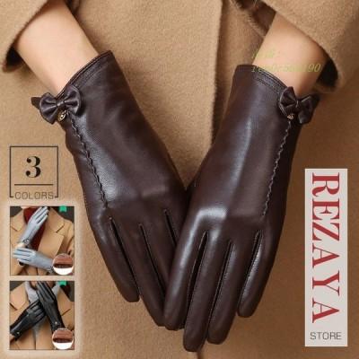 本革手袋 レディース グローブ レザーグローブ レザー手袋 glove レーシンググローブ バイク手袋 バイクグローブ 合わせやすい
